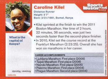2011 Sports Illustrated for Kids #38 Caroline Kilel Back