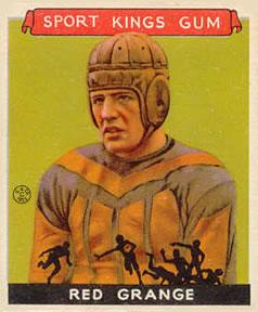 1933 Sport Kings #4 Red Grange | The Trading Card Database