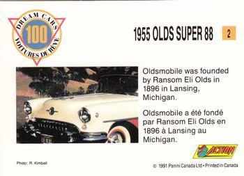 De Lorean #4 Dream Cars 1991 Panini Trading Card