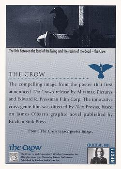 1994 Kitchen Sink The Crow #1 The Crow Back