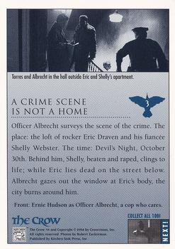1994 Kitchen Sink The Crow #3 A Crime Scene Is Not a Home Back