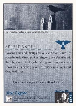 1994 Kitchen Sink The Crow #8 Street Angel Back