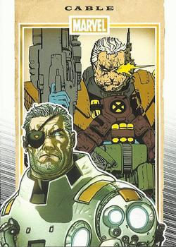 2014 Rittenhouse Marvel 75th Anniversary #13 Cable Front