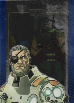 2014 Rittenhouse Marvel 75th Anniversary - Sapphire #13 Cable Front