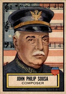 1952 Topps Look 'n See #115 John Philip Sousa Front