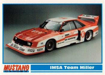 1994 Performance Years Mustang Cards II (30 Years) #136 IMSA Team Miller Front