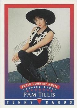 1992 Tenny Super Country Music #NNO Pam Tillis Front