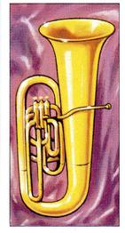 1971 Musical Instruments #18 Tuba Front