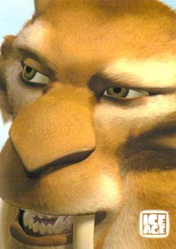 2002 Hero Factory: Ice Age #7 (no title; close-up of saber-toothed tiger) Front