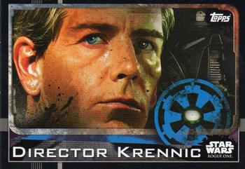 2016 Topps Star Wars Rogue One (UK Version) #24 Director Krennic Front