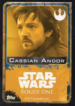 143-Cassian Andor Topps Star Wars-Rogue One