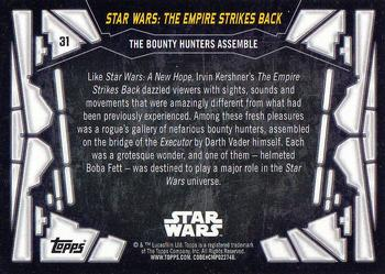 Topps star wars th anniversary non sport gallery the