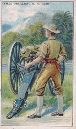 1909-13 Recruit Military Series T81 #NNO Field Artillery U.S. Army Front