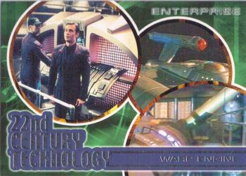 Enterprise Season 1 T1 T9 22nd Century Technology 9 Card Insert Set Star Trek