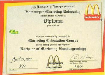 where is hamburger university