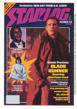 1993 Starlog: The Science Fiction Universe #21 052 - November Front