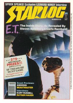 1993 Starlog: The Science Fiction Universe #35 063 - October Front