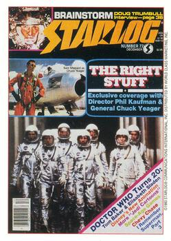 1993 Starlog: The Science Fiction Universe #38 077 - December Front