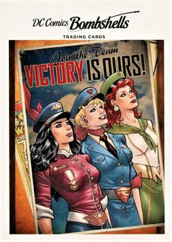 2017 Cryptozoic DC Comics Bombshells #A12 Justice League - Volume 2 #43 Front