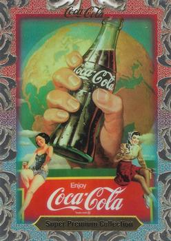 COCA COLA SUPER PREMIUM 1995 COLLECT-A-CARD PROMO CARD NO NUMBER