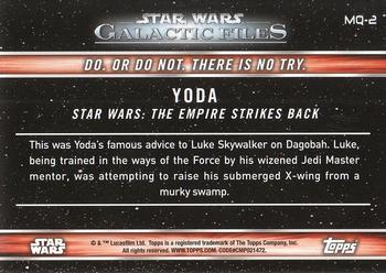 2017 Topps Star Wars Galactic Files: Reborn - Famous Quotes Non