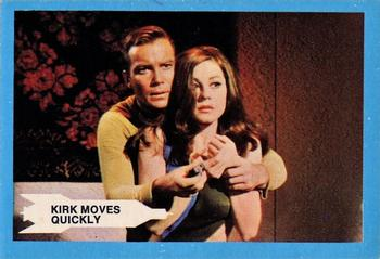 1969 A&BC Star Trek #12 Kirk Moves Quickly Front