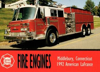 1994 Bon Air Fire Engines #284 Middlebury, Connecticut - 1992 American LaFrance Front