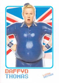 2006 Little Britain Collector Cards #2 Daffyd Thomas Front