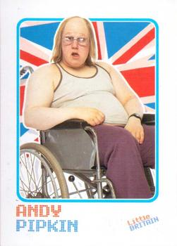 2006 Little Britain Collector Cards #3 Andy Pipkin Front
