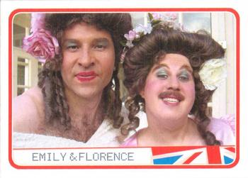 2006 Little Britain Collector Cards #29 Emily  & Florence Front