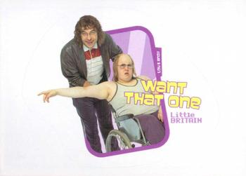 2006 Little Britain Collector Cards - Stickers #3 Lou & Andy Front