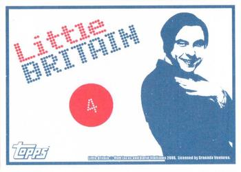 2006 Little Britain Collector Cards - Stickers #4 Marjorie Dawes Back