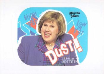 2006 Little Britain Collector Cards - Stickers #5 Marjorie Dawes Front