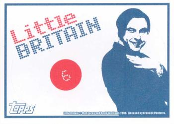 2006 Little Britain Collector Cards - Stickers #6 Vicky Pollard Back