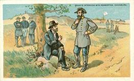 1887 W. Duke Sons & Co. Battle Scenes (N99) #NNO Grant's Interview With Pemberton, Vicksburg Front