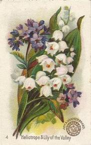 1895 Arm & Hammer Beautiful Flowers (J16) #4 Heliotrope & Lily of the Valley Front