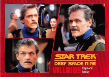2018 Rittenhouse Star Trek Deep Space Nine Heroes & Villains #57 Raymond Boone Front