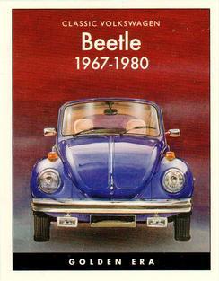 2016 VW Volkswagen Beetle Denim 1-page Car Sales Brochure Collectors Card