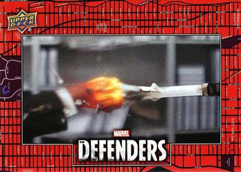 2018 Upper Deck Marvel's The Defenders #110 Come On! Front