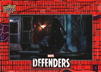 2018 Upper Deck Marvel's The Defenders #127 Ran from Destiny Front