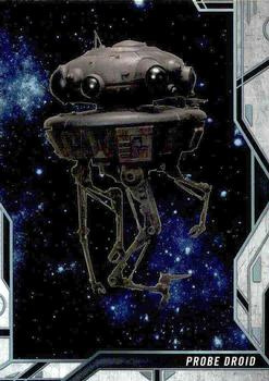 2018 Topps Finest Star Wars - Droids and Vehicles #DV-15 Probe Droid Front