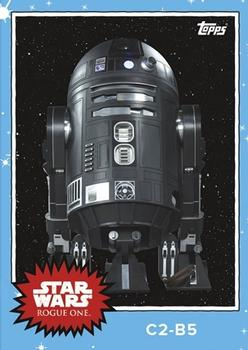 2016 Topps Star Wars Mission Briefing Monday #MBM-10 C2-B5 Front