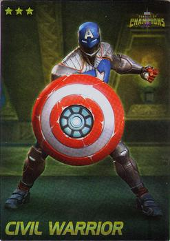 2019 Dave and Busters Marvel Contest of Champions - Foil #12 Civil Warrior Front