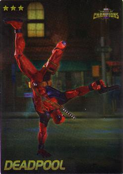2019 Dave and Busters Marvel Contest of Champions - Foil #17 Deadpool Front