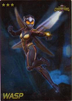 2019 Dave and Busters Marvel Contest of Champions - Foil #70 WASP Front