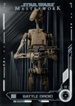 Star Wars Galactic Files Reborn Blue Parallel Base Card TPM-16 Battle Droids