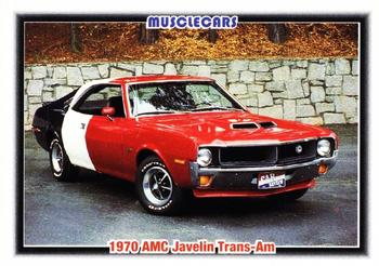 1992 Collect-A-Card Muscle Cars #16 1970 AMC Javelin Trans-Am Front