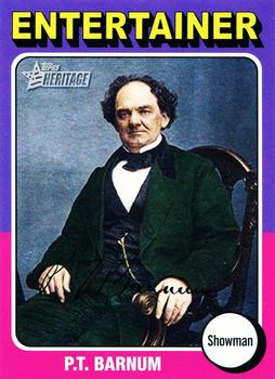 2009 Topps American Heritage #82 P.T. Barnum Front