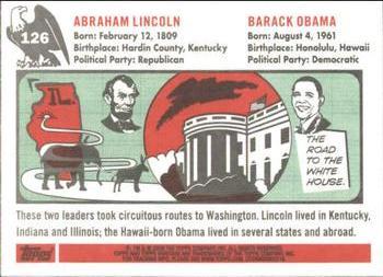 ABRAHAM LINCOLN 2009 AMERICAN HERITAGE HEROES EDITION #126 BARACK OBAMA
