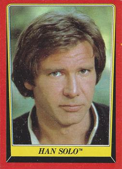 1983 Topps Return Of The Jedi #4 Han Solo Front